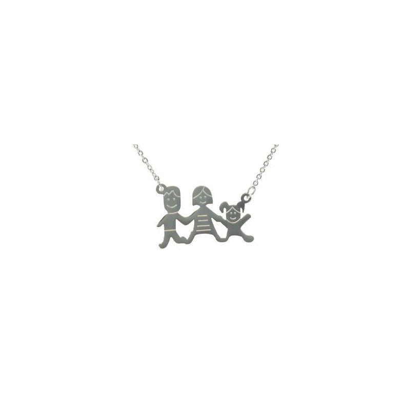 Collana in acciaio unisex HAPPY FAMILY - 33 Combinazioni