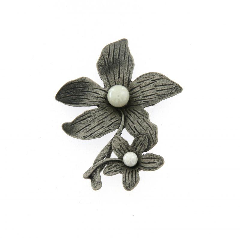 SP- Doppio Fiore 5655 - Spilla