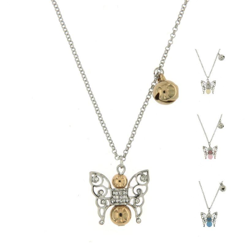 CML6518-Chiama Angeli Farfalla Piccolo - Collana Corta