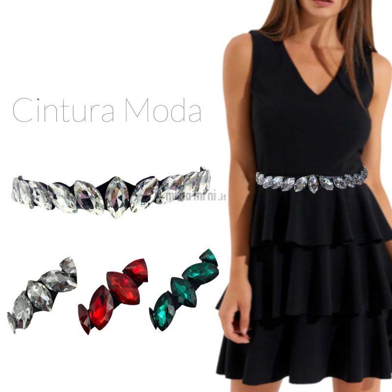 CIN5877-Riso-Cintura con Pietre Colorate