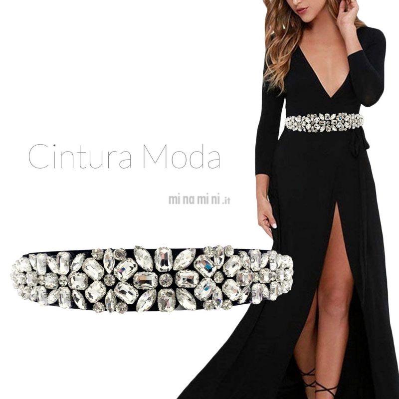 CIN5885-Fiore-Cintura con Pietre Colorate