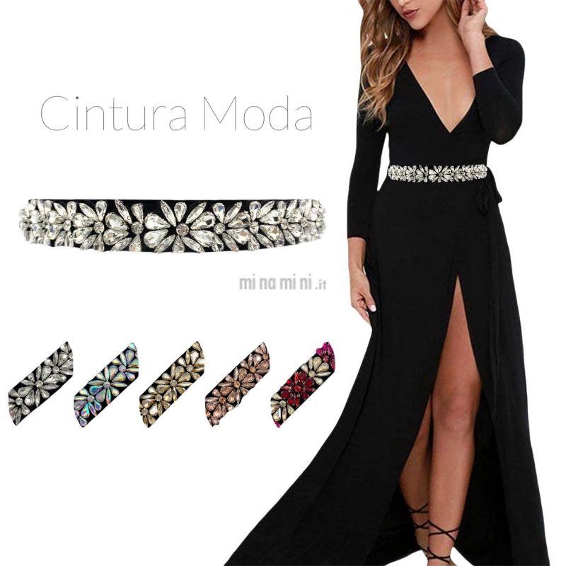 CIN5890-Fiore-Cintura con Pietre Colorate