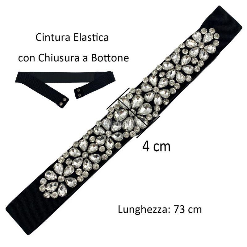 CIN5898-Fiore-Cintura con Pietre Colorate