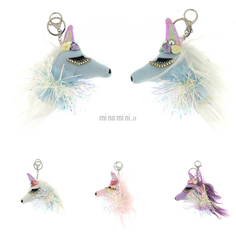PKM6269-Unicorno-Portachiave Moda