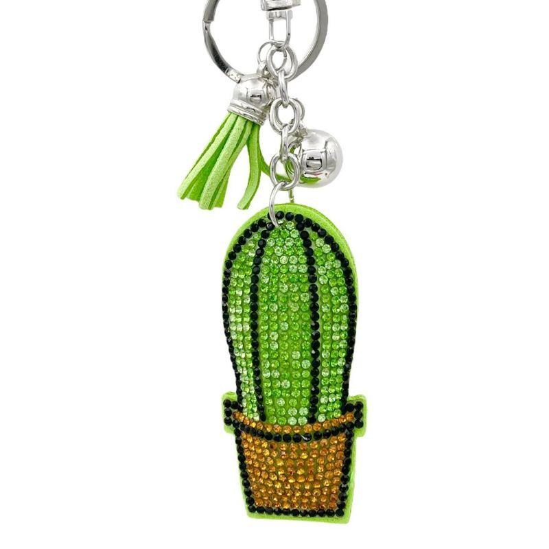 PKS6932-Cactus- Portachiavi in Similpelle